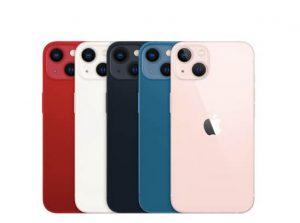 新型iPhone13のスペックとカラー