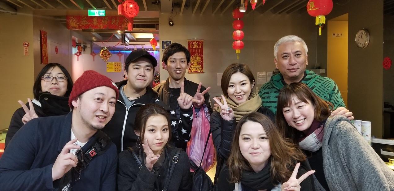 台湾旅行みんな仲良し