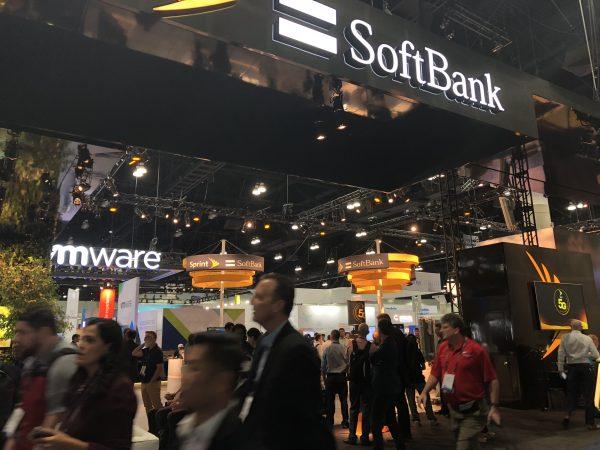 Softbankもブースを出店