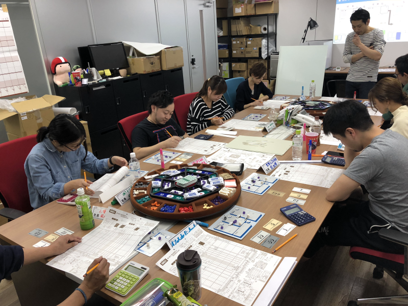 MG(マネジメントゲーム)での研修